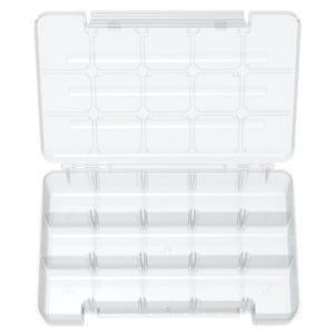 Akro-Mils 11 in. 15-Compartment Storage Case A05805