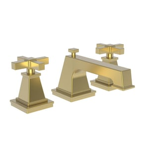 Newport Brass Malvina 1.2 gpm Widespread Lavatory Faucet in Satin Gold N3150/24S