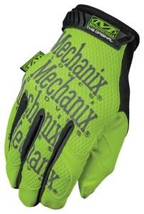Mechanix Wear Hi-Viz Original XD™ XL Size Synthetic Leather and Plastic High Visibility Mechanics Glove MSMG910