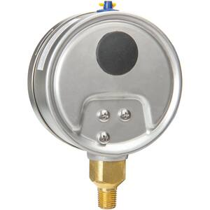 H.O. Trerice 700 Series 4 x 1/4 in. 60 psi Brass Pressure Gauge T700B4002LA100