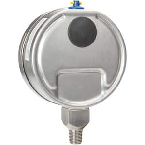H.O. Trerice 700 Series 4 x 1/4 in. 160 psi Stainless Steel Pressure Gauge T700SS4002LA120