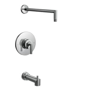Moen Arris® Tub and Shower Trim with Single Lever Handle in Polished Chrome (Less Head) MTS22003NH