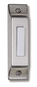 Craftmade International Builder Series Lighted Push Button Surface Mount Builder in Pewter CBSCBPW
