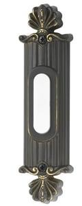 Craftmade International Lighted Surface Mount Push Button Door Bell in Antique Bronze CBSSOAZ