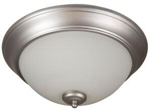 Craftmade International Pro Builder 60W 3-Light Ceiling Light in Brushed Satin Nickel CXP15BN3W