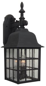 Craftmade International Grid Cage 3-Light Small Wall Mount Sconce in Matte Black CZ570TB