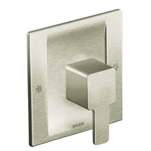 Moen 90 Degree™ Tub and Shower Valve Trim Only in Brushed Nickel MTS3711