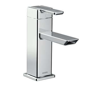 Moen 90 Degree™ Single Handle Centerset Bathroom Sink Faucet in Polished Chrome MS6701