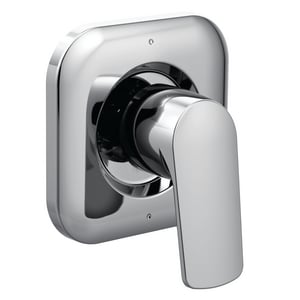 Moen Rizon™ 2 or 3-Function Tub and Shower Transfer Valve Trim with Single Lever Handle in Polished Chrome MT2081