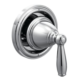 Moen Brantford™ Wall Mount Metal and Brass Diverter Valve Trim with Single Lever Handle in Polished Chrome MT2021