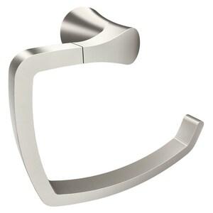 Moen Danika™ Towel Ring in Brushed Nickel MBH2986BN