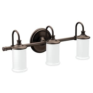 Creative Specialties International Belfield™ 100W 3-Light Medium E-26 Incandescent Vanity Fixture in Oil Rubbed Bronze CSIYB6463