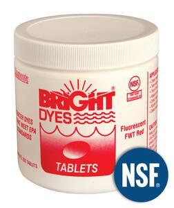 Pollardwater 200 Tablets Fluorescent Dye Tablet PP51701 at Pollardwater
