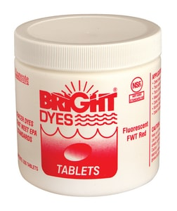 Pollardwater Bright Dyes® 200 Tablets Water Fluoridation in Red PP517 at Pollardwater