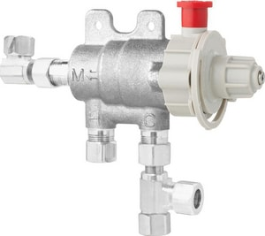 Chicago Faucet Ecast® 3/8 in. Thermostatic Mixing Valve C131CFMABRCF