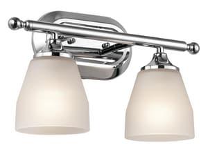 Kichler Lighting Ansonia 2-Light Bath Light Fixture in Polished Chrome KK5447CH