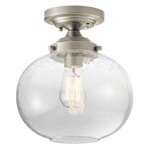 Kichler Lighting Avery 60W 1-Light Semi-Flush Mount Ceiling Light KK42296