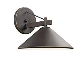 Kichler Lighting Ripley 12 in. 60 W 1-Light Medium Sconce in Olde Bronze KK49061OZ