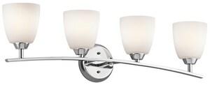 Kichler Lighting Granby™ 4-Light Bath Light in Polished Chrome KK45361CH