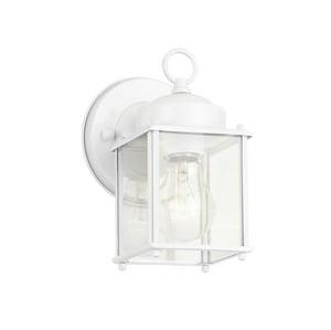 Kichler Lighting 5 in. 60 W 1-Light Medium Lantern in White KK9611
