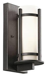 Kichler Lighting Camden 100W Medium Base Wall Lantern in Anvil Iron KK49119AVI