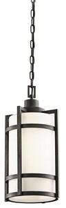 Kichler Lighting Camden 1-Light Outdoor Hanging Pendant in Anvil Iron KK49124AVI