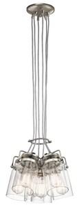 Kichler Lighting Brinley 100W 6-Light Medium Base Incandescent Pendant KK42877