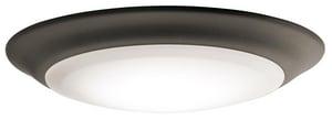 Kichler Lighting Signature 7-1/2 in. 1-Light Ceiling Light in Olde Bronze KK43848OZLED30
