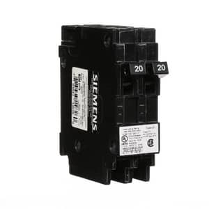 Siemens Energy & Automation 120V 20A 1-Pole Duplex Circuit Breaker SQ2020