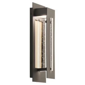 Kichler Lighting River Path™ 7.5W 1-Light Integrated LED Outdoor Wall Sconce in Olde Bronze KK49945OZLED
