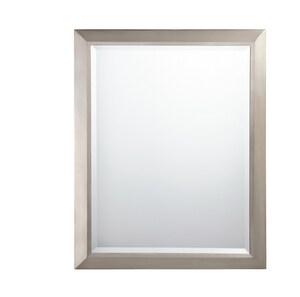 Kichler Lighting 30 x 24 in. Rectangle Mirror in Brushed Nickel KK41011NI