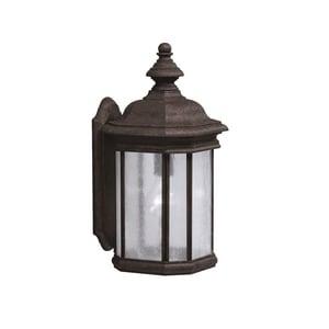 Kichler Lighting Kirkwood 150 W 1-Light Medium Outdoor Wall Lantern in Tannery Bronze KK9029