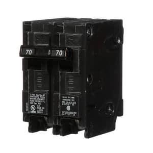 Siemens Energy & Automation 70 Amp 2-Pole 120 V Plug Inch Breaker SQ270