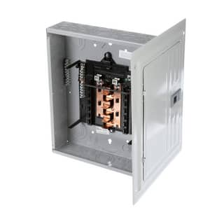 Siemens Energy & Automation 18 in. 125A Single Phase Metal Lath Cubic Indoor (Less Cover) SP1212L1125CU