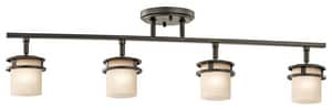 Kichler Lighting Hendrik 50W 4-Light Rail Light in Olde Bronze KK7772OZ