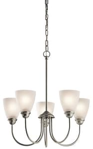 Kichler Lighting Jolie 22 in. 100W 5-Light Medium Incandescent Ceiling Light KK43638
