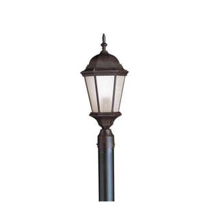 Kichler Lighting Madison 22-3/4 x 9-1/2 in. 1-Light Outdoor Post Mount in Tannery Bronze KK9956