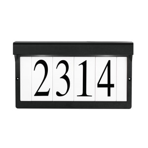 7 in. Aluminum Address Light in Textured Black KK43800BKT