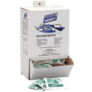 ERB Safety 7-1/4 in. Lens Clean Anti-fog Wipes E15699