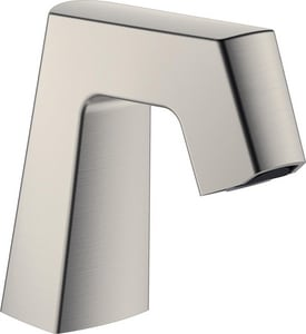 Chicago Faucet EQ Series 4-1/2 in. Brass Spout Assembly in PVD Brushed Nickel CEQB11CKJKABBN
