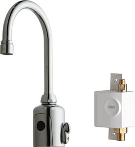 Chicago Faucet HyTronic® No Handle Sensor Bathroom Sink Faucet in Polished Chrome C116943AB1