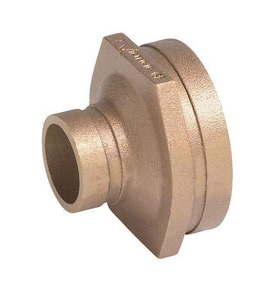 Victaulic FireLock™ Style 650 8 x 6 in. Grooved Copper Reducer VFF47650C0C