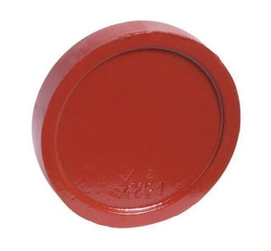 Victaulic FireLock™ Style 60-C 4 in. Grooved Ductile Iron Cement Lined Solid Cap VA040060PDL