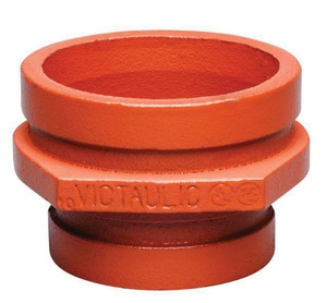 Victaulic Style 50 2-1/2 x 1-1/2 in. Grooved Painted Concentric Reducer VDOMFC03050P01