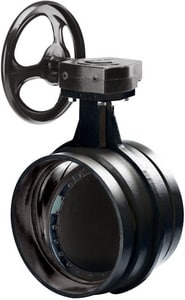 Victaulic Series 761 14 in. Ductile Iron EPDM Gear Operator Handle Butterfly Valve VW761SE6-NR