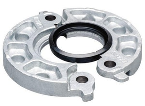 Victaulic Vic-Flange® Style 741 10 in. Grooved Galvanized Flange Adapter E Gasket VL100741GE0