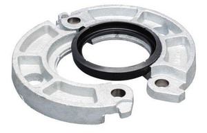 Victaulic FireLock™ Style 744 8 in. Galvanized Flange Adapter with Grade E Gasket VL080744GE0