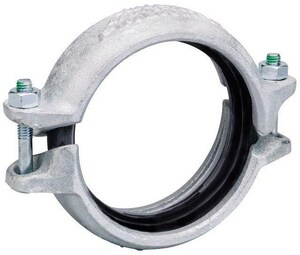 Victaulic FireLock™ Style 009N 12 in. Galvanized Rigid Coupling VL12009NGE0