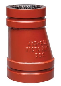 Victaulic FireLock™ Style 51-C 20 x 12 in. Grooved Ductile Iron Eccentric Reducer VAH70051PFL
