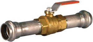 Style P589 3/4 in. Brass Vic-Press™ 500# Ball Valve VV006589XEP